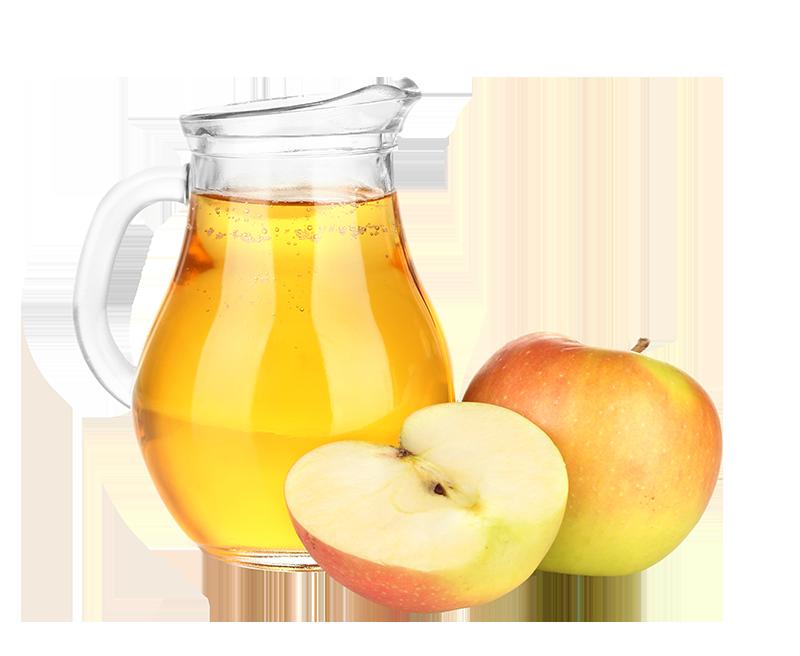 Apfel- und Traubensaft frisch gepresst